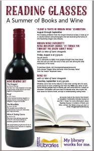 Reading Glasses program poster